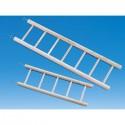 Scaletta in legno 5 pioli