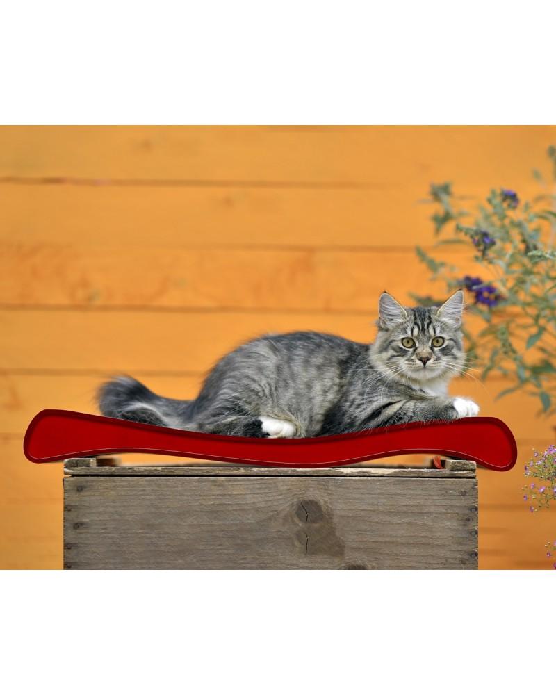 Tiragraffi Cat On in cartone ondulato per gatti Modello OLA