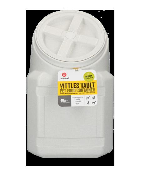 Gamma Vittles Vault Outback Scatola Impilabile 40 lt per stoccaggio alimenti