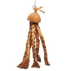 Medusa Large - Gioco Banano e Cocco per Pappagallo