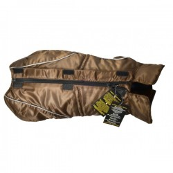 GIACCA IMPERMEABILE DOGBITE BROWN 35
