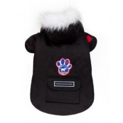 Cappotto per Cane Winter Wilderness Nero