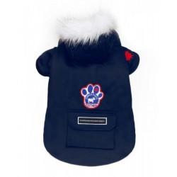 Cappotto per Cane Winter Wilderness Blu Navy