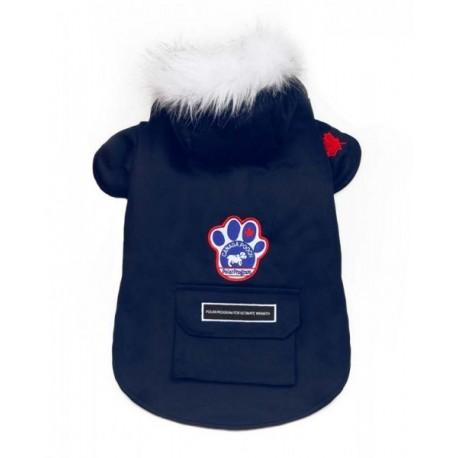 Cappottto per Cane Winter Wilderness Blu Navy