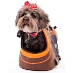 Infinita Pet Carrier Borsa per Cane Vista Laterale Con DUDU