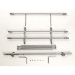 Divisorio per Auto in Alluminio KAR9 Componenti