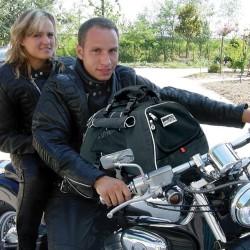 JET SET FORMA FRAME - Borsa per Cane in moto