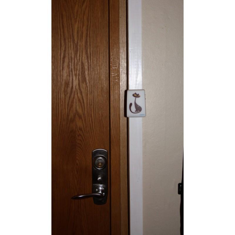 Campanello senza fili apri porta per gatti - Porta per gatti ...