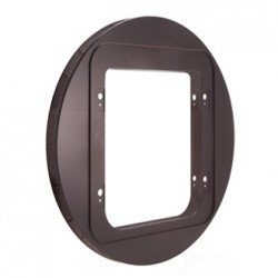 Adattatore Vetro Gattaiola SecureFLAP Pet Door SUR101 MARRONE