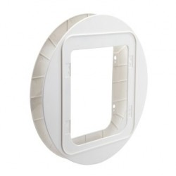 Adattatore Vetro Gattaiola SecureFLAP Pet Door SUR101 BIANCO