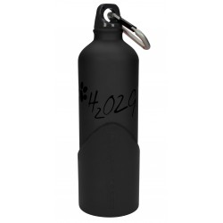 H2O2GO Bottiglia Acqua per Cane 750ml BLACK