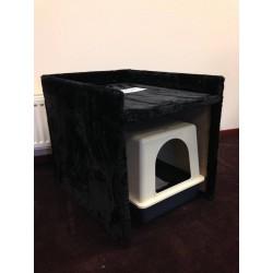 Cat Toilette Box Tiragraffi Nero