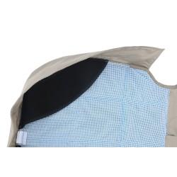 EB Protector Telo Sedile Posteriore Auto TAN Dettaglio Tessuto