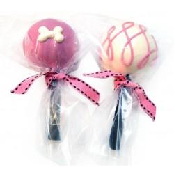 Girl Cake Pops Sfusi (6 pz.) - Lecca Lecca Cani