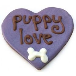 Puppy Love Heart Sfusi (12 pz.) - Biscotti Cane