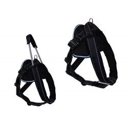 Pettorina Patento Jockey Harness Nero Medium