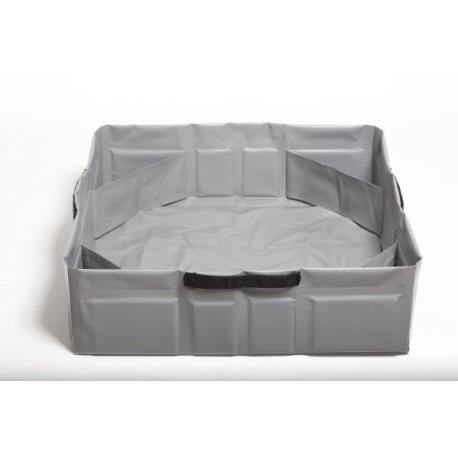 Tank Clever - Serbatoio da Campeggio per Cani  Grigio - Medium