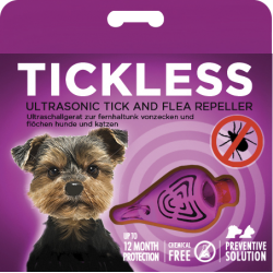 TickLESS Antipulce Ultrasuoni Rosa