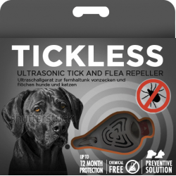 TickLESS AntiZecche Ultrasuoni Nero