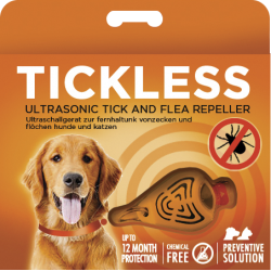 TickLESS AntiZecche Ultrasuoni Arancio