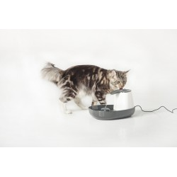 CASCADE Fontanella Acqua Fresca per Gatto con Gatto