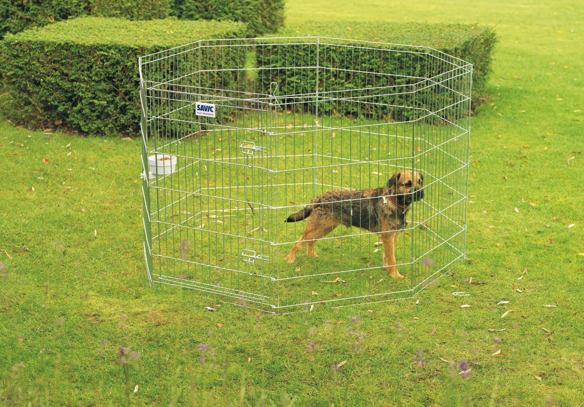 Recinto per cani Dog park 2 da esterno in metallo