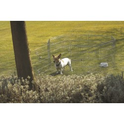 Recinto da Esterno in Metallo Per Cani DOG PARK 1