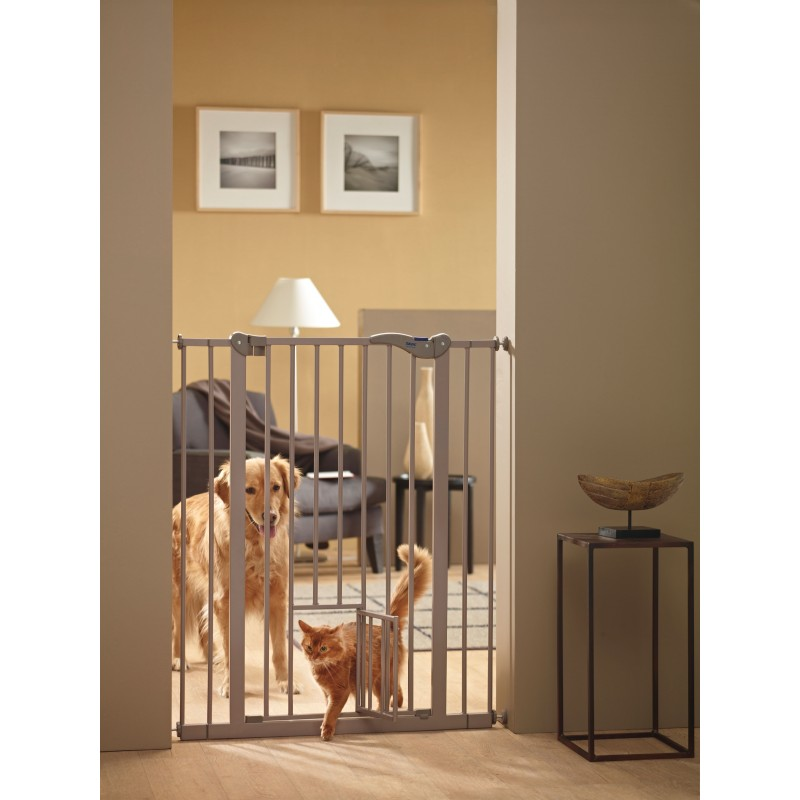 Cancelletto per cani da interno dog barrier gate 107 con for Gattaiola per cani