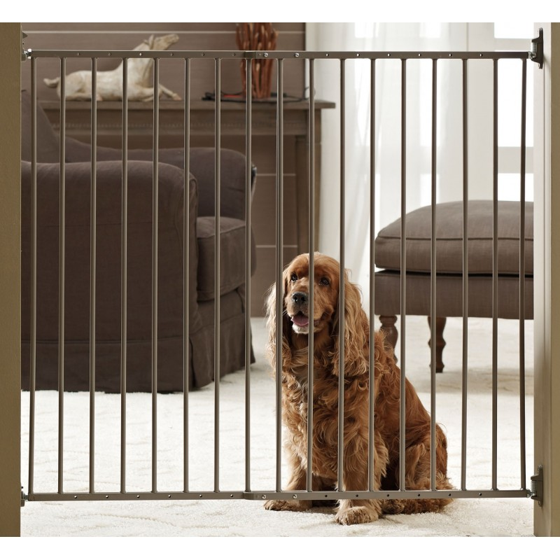 Dog barrier indoor divisorio da interno in metallo per cani for Cancelletto sicurezza bambini