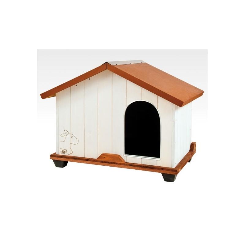 Cuccia per cani tequila in legno trattato medium for Cane tequila e bonetti