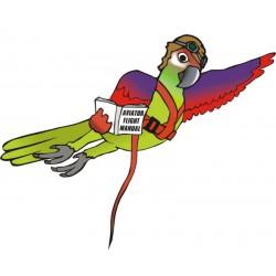 Pettorina Aviator Flight Line per pappagalli Volo in Libertà