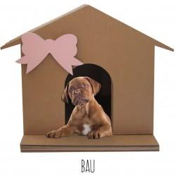 Cuccia per Cagnolini e Cuccioli in Cartone BAU
