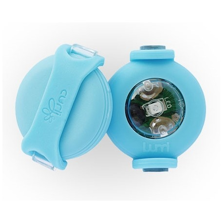 luumi LED - Luce per Guinzaglio Colore Blu
