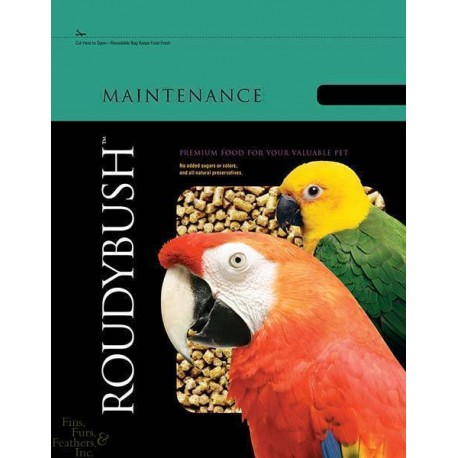 Roudybush Manutenzione - Mangime Pappagalli Mini 227g