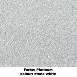 SAN REMOII  II Platinum - Gabbia Parrocchietti in Metallo Powder Coated