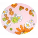 Lucky-Kitty Rubber Placemat Tovaglietta Rosa