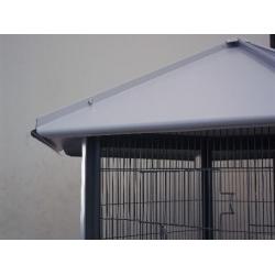 Voliera Zincata esagonale Singola Camera per Uccellini 705
