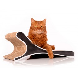 Feline Cat-On Tiragraffi in Cartone Ondulato Small