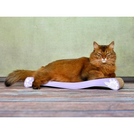 La OLA Cat-On Tiragraffi in Cartone Ondulato Small