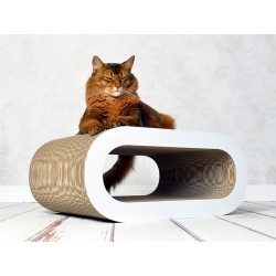Le Maitre Cat-On Tiragraffi in Cartone Ondulato Large