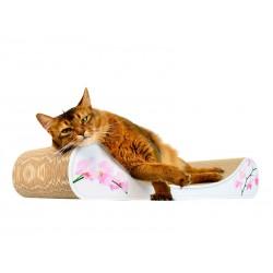 Le Divan Cat-On Tiragraffi in Cartone Ondulato Large