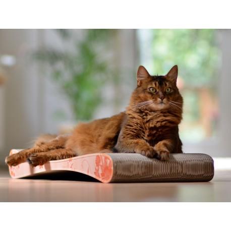 Grattoir Slim Line Cat-On Tiragraffi in Cartone Ondulato Large