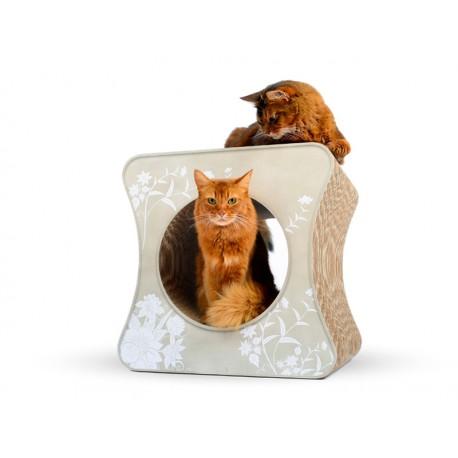 Le Cube Cat-On Tiragraffi in Cartone Ondulato X-Large