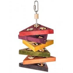 Gioco Pappagalli Snack Tray Bird Toy