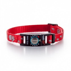 Collare Gatto Salvavita CAT-LIFE REFLECTING CAT ROSSO