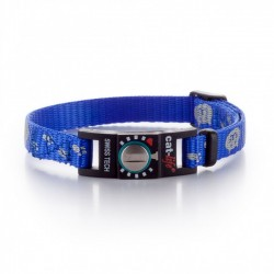 Collare Gatto Salvavita CAT-LIFE REFLECTING CAT BLU
