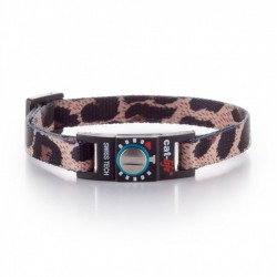 Collare Gatto Salvavita CAT-LIFE WILD LEOPARD