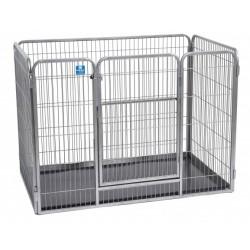 Puppy Guard - Recinto per Cuccioli in Metallo e 2 Altezze