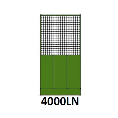 Pannello Voliera Modulare 50% Rete 50% Lamiera