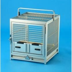 Trasportino Alluminio Pappagalli TC01 Silver